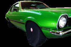 Capa de Pneu Detail Universal Preta 4 Unidades (Nobre Car)