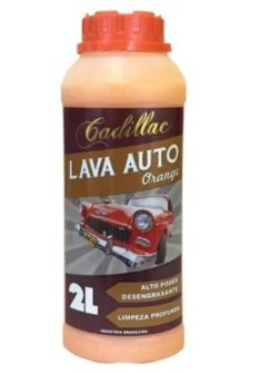 Cadillac Lava auto Orange