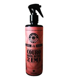 Limpa e hidrata Couro 2×1 Quick Detail 500ml – Easytech