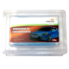 Clay Bar Removedor de Contaminantes Suave Azul Mills 200g