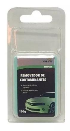 Clay Bar Removedor De Contaminantes Médio Verde Mills 100g