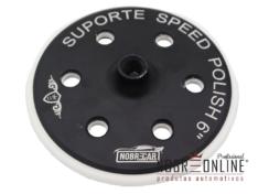 Suporte Speed Polish Black 6″ Rosca 5/8 (Nobre Car)