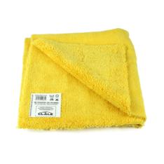 Pano de Microfibra Clale Sem Bordas Premium Dourado 310grm (40x40cm)