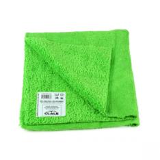 Pano de Microfibra Clale Sem Bordas Premium Verde 310grm (40x40cm)
